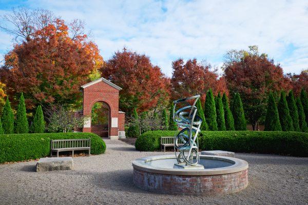 New Harmony Indiana's Church Park