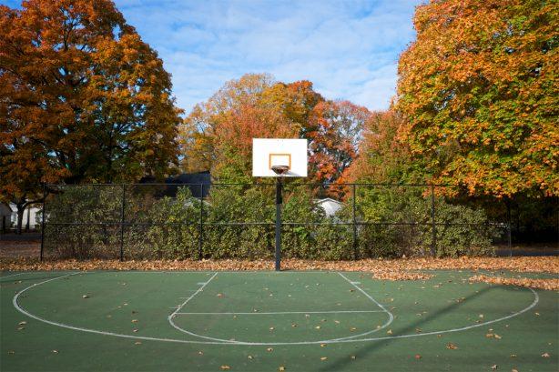 Church Park Basketball Court