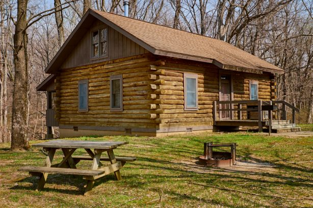 Cabin at Harmonie State Park