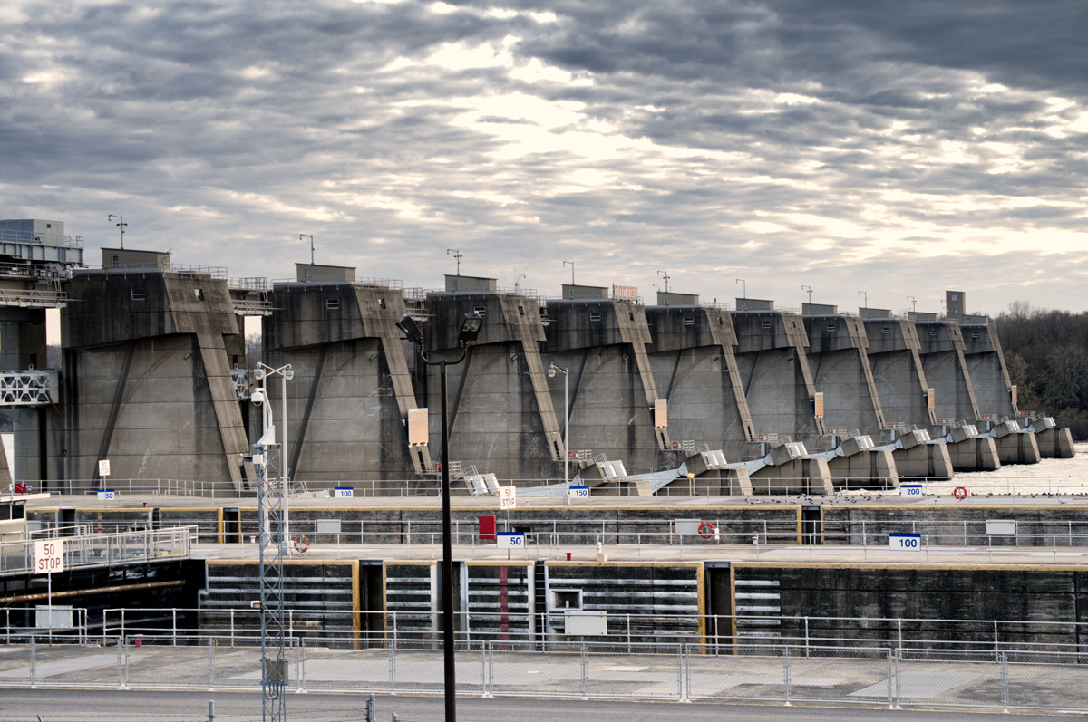 John T. Myers Locks and Dam