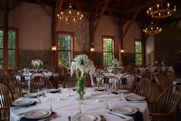 Wedding Reception at the Granary in New Harmony, Indiana