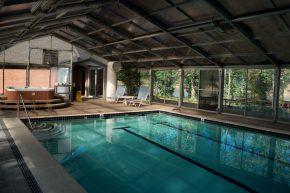 New Harmony Inn Indoor Swimming Pool