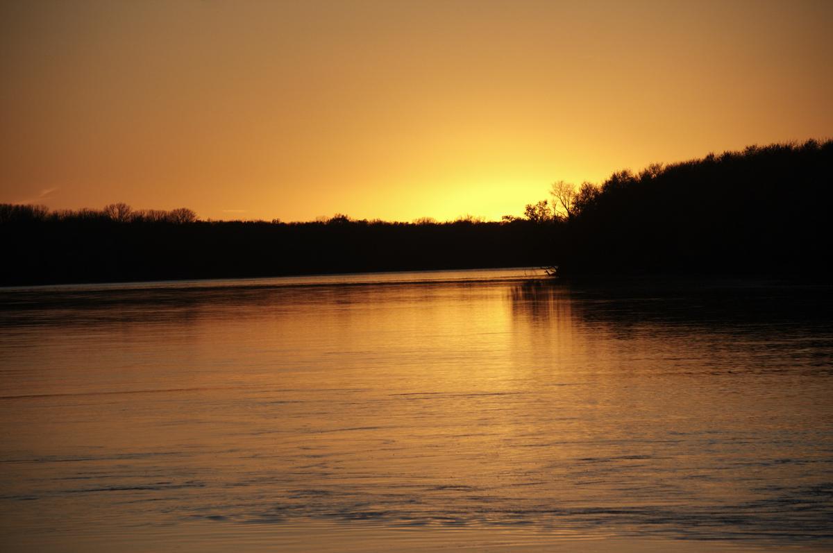 Wabash River at Harmonie State Park