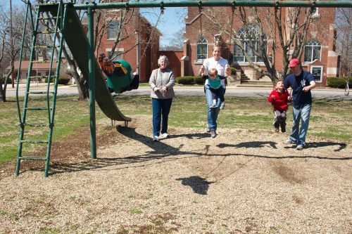 Families Play at Maclure Park