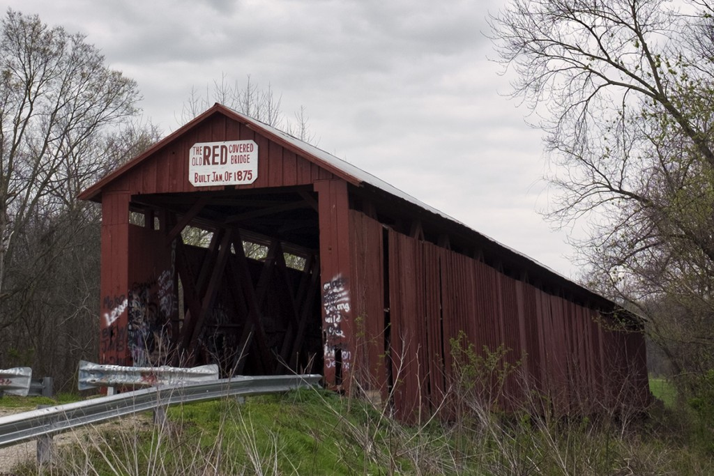 Old Red Covered Bridge