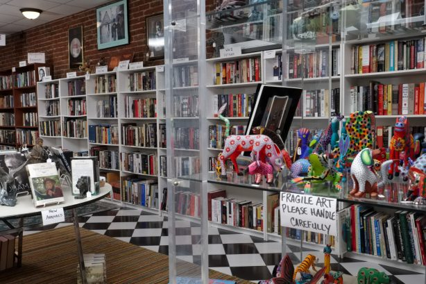 Clementine's Eclectic Gallery Book Store and Gift Shop in New Harmony, Indiana