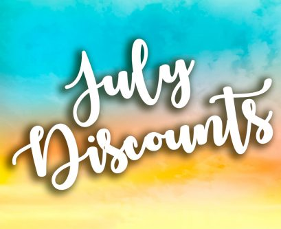July Discount for Posey County Indiana