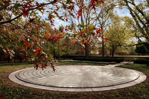 The Cathedral Labyrinth in New Harmony, Indiana.