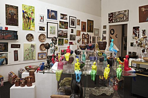 The New Harmony Gallery of Contemporary Art and gift shop
