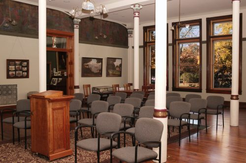 The Maclure Room for the dissemination of useful knowledge