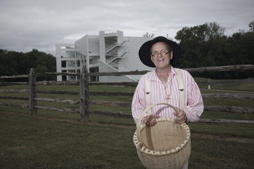 Basket Weaver at Kunstfest