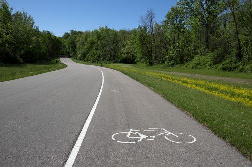 Bike Trail at Harmonie State Park