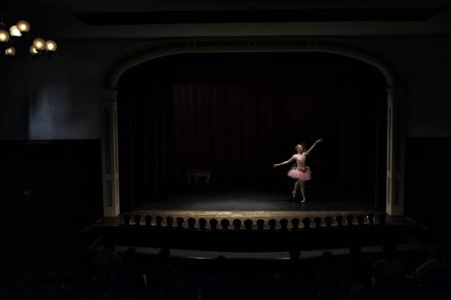 Dancer on Stage at Thrall's Opera House