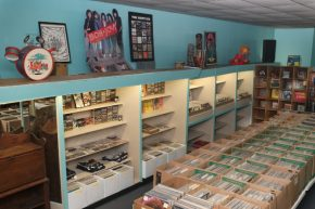 Backbeat Records and Just Looking Antiques