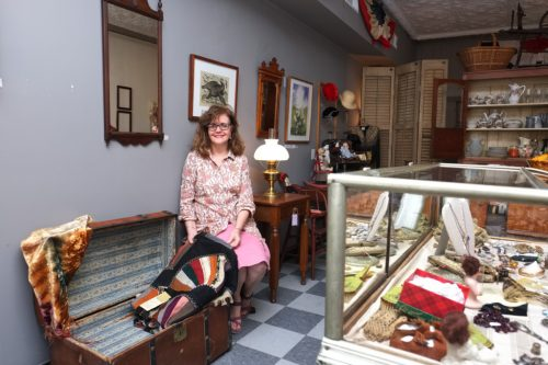 Rosebud Antiques in New Harmony