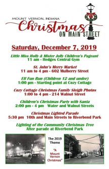 christmas on main street mount vernon indiana posey county