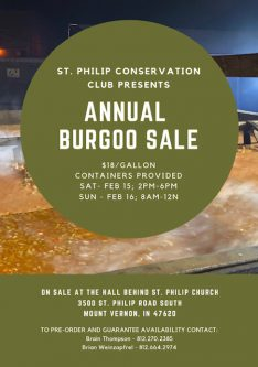 Burgoo Sale Posey County Indiana