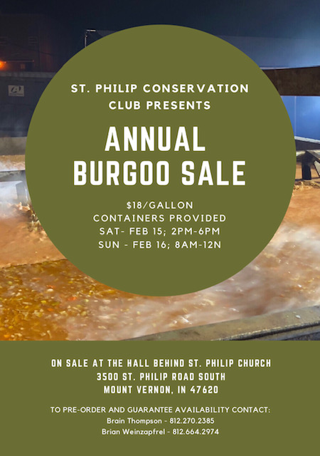 Burgoo Sale Posey County Indiana