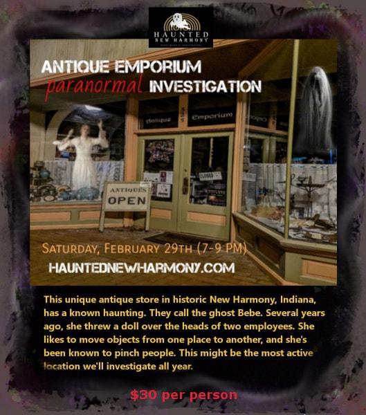Haunted New Harmony Indiana PAranormal Investigation
