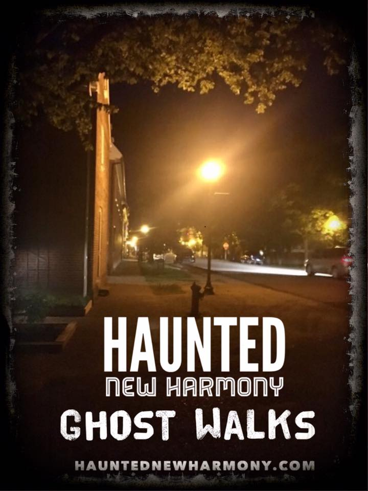 Haunted New Harmony Indiana