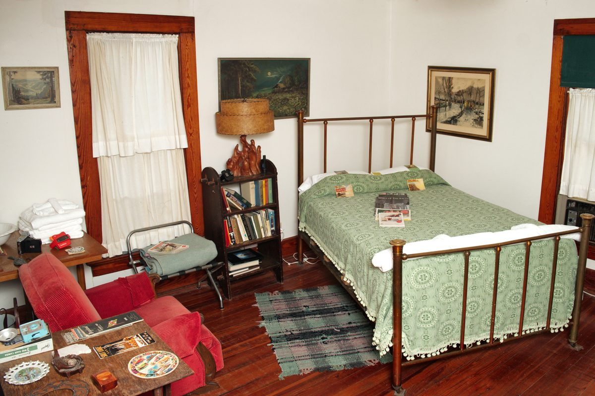 The Old Rooming House is an affordable, eclectic place to stay in New Harmony.